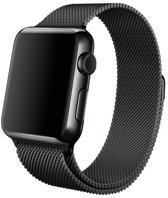 watchbands-shop.nl bandje - Apple Watch Series 1/2/3/4 (42&44mm) - Zwart