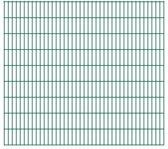 vidaXL Dubbelstaafmatten 2008 x 1830mm 10m Groen 5 stuks
