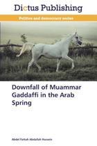 Downfall of Muammar Gaddaffi in the Arab Spring