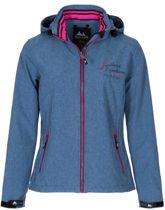   Nord Berg dames softshell jas Fay light blue