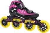 Tempish Gt 500 90 Inline Speed Skates Meisjes Zwart/roze Maat 35
