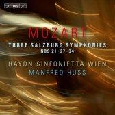 Three Salzburg Symphonies Nos. 21, 27, 34