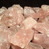 Rozekwarts Stenen / Kristal Ruw - 1KG