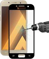 Let op type!! ENKAY Hat-Prins voor Galaxy A3 (2017) / A320 0 26 mm 9H oppervlaktehardheid 2.5D Explosieveilig volledig scherm getemperd glas kleur scherm Film(Gold)