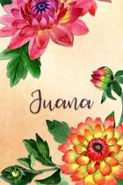 Juana: Personalized Journal for Her (Su Diario)
