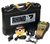 DYMO RHINO 6000 Hard Case Kit Direct thermisch Zwart, Geel labelprinter