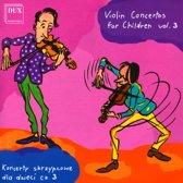 Violin Concertos For Children Vol.
