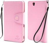 MLT Wallet Case Sony Xperia Z Pink