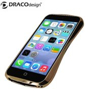 DracoDesign DRACO 5 iPhone 5 SE / 5S / 5 Bumper Case - Aluminium Bumper -  Premium Case - A6061 Bumperframe Hoesje - Luxury Gold SPECIAL EDITION + DrPhone Autolader
