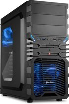 Sharkoon VG4-W - PC Behuizing / Zwart
