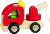 Goki Houten sleepwagen 18,5 x 8,5 x 10 cm