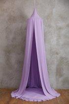 FUJL – Hemeltje – Klamboe – sluier – handgemaakt – Lavendel – Lengte 240cm