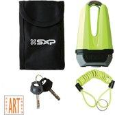 SXP Compact Schijfremslot 13mm ART4 - Geel