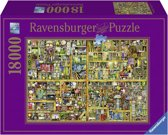 Ravensburger Colin Thompson Magical bookcase - Puzzel van 18000 stukjes