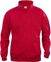 Clique Basic cardigan Rood maat M
