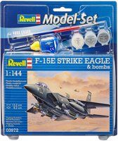 Revell Model Set F-15E STRIKE EAGLE & b