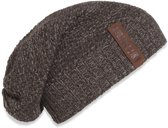 Knit Factory Coco Beanie Bruin/Taupe