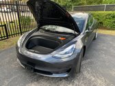 Tesla model 3 Frunk spring - Voorste kofferbak gasvering - Zwart