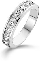 TI SENTO Milano Ring 1635ZI - Maat 52 (16,5 mm) - Gerhodineerd Sterling Zilver