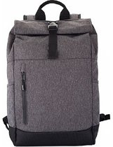 Roll-Up Backpack antraciet rugtas