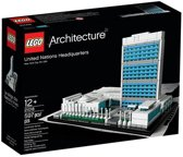 LEGO Architecture United Nations Headquarters - 21018