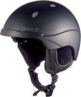 Sinner Titan - Skihelm - Unisex - XXL / 63-64 cm - Zwart