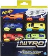 NERF Nitro Foam Car Refill 6 stuks