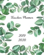 Teacher Planner 2019 - 2020: Lesson Plan - Monthly Calendar - Undated Weekly Pages + Students Pages ... Academic Year (September - August) Watercol
