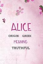 Alice Greek Truthful