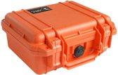 Pelibox 1200 met schuim inzetstuk - Oranje