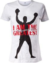 Muhammad Ali - Shirt - Wit, I am the Greatest - Small