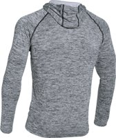 Under Armour Tech Popover Henley - Sportshirt - Heren - Maat XXL - Zwart