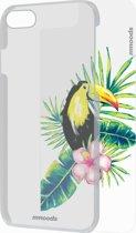 mmoods transparent cover met 1 insert Tropical - voor iPhone 7/8
