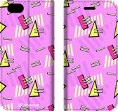 Mobigear 90s Design Wallet Bookcase Hoesje 8 iPhone 6 / 6s