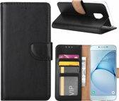 Samsung Galaxy S5 / S5 Neo / S5 Plus portemonnee hoes / geschikt voor 3 pasjes Zwart