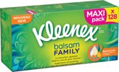 Kleenex Family Box Balsam 10 x 128 sheets