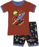 Hatley 2delige jongens pyjama  Space Aliens - 104
