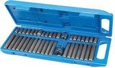 Silverline 40-delige inbus, Torx en spline bit set