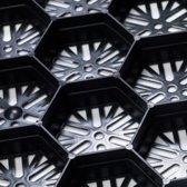 Intergard grindplaten splitplaten 59x79x3cm voor siergrind en siersplit TNO gekeurd.