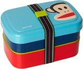 Paul Frank Lunchbox Set van 3 stuks Blauw