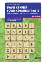 Basiskennis loonadministratie 2017/2018 Theorie-/opgavenboek