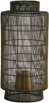 Light & Living Tafellamp lantaarn GRUARO - draad antiek brons