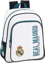 Real Madrid History Rugzak - 34 cm - Wit