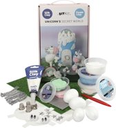 Creative Foam & Silk Clay Themaset Unicorn - 1 set