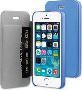 BeHello Flip Cover voor Apple iPhone 5/5S - Blauw