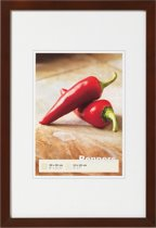 Peppers wooden frame 30x30 walnut