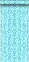 HD vliesbehang barok turquoise - 136823 van ESTAhome.nl