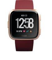 Fitbit Versa - Smartwatch - Special edition - Merlot
