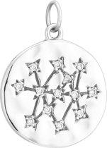 I.Ma.Gi.N. Jewels 925 Sterling Zilveren Charm Coin Hanger  - Zilver