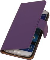Wicked Narwal | bookstyle / book case/ wallet case Hoes voor BlackBerry Z10 Paars